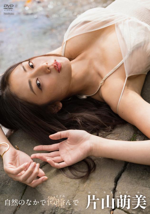 片山萌美の新作イメージ「自然のなかで微睡んで」